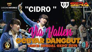 CIDRO || VIA VALLEN feat OM SERA || LIVE UMKM KENDAL EXPO 2019