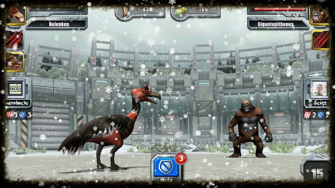 Jurassic Park Builder Glacier Battle Tournament Online