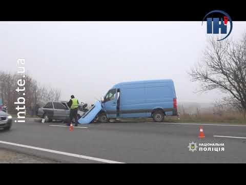 Телеканал ІНТБ: Неподалік Збаража трапилася смертельна аварія