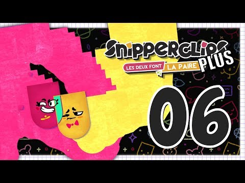 SNIPPERCLIPS PLUS EPISODE 6 NINTENDO SWITCH COOP FR