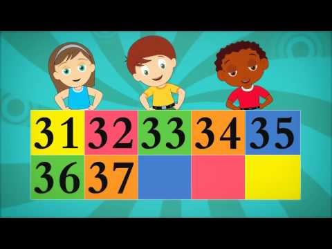 The Big Numbers Song for Children   Ep 6