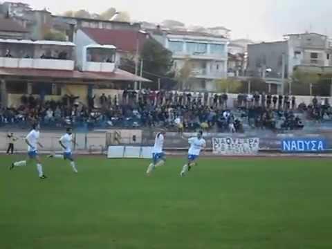 Imathia Sports News / Νάουσα - Ρήγας Φεραίος (4-2) Στιγμιότυπα