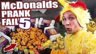 McDonalds PRANK FAIL - 140 Chicken McNuggets - McDonalds Roulette