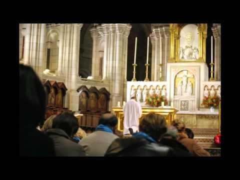 Adoration de nuit à la Basilique du Sacré-Coeur de Montmartre