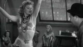 Lucille Ball Dancing the Hula -Yipe!