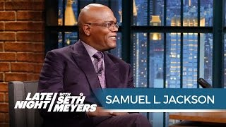 Samuel L. Jackson Remembers Making Star Wars - Late Night with Seth Meyers