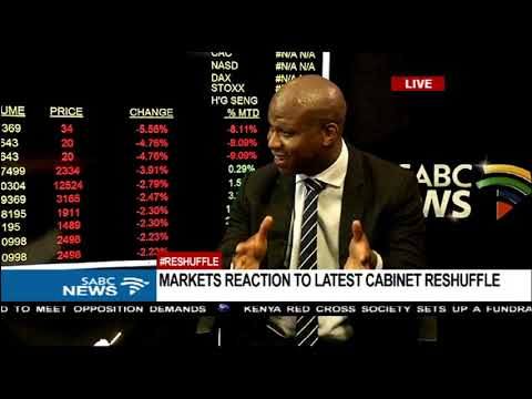 Markets reaction to latest #CabinetReshuffle: Lesiba Mothata