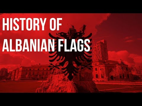 History Of Albanian Flags
