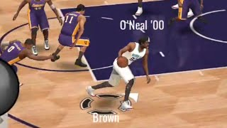 Video HE CROSSED UP KLAY!! NEW 99 FRED BROWN GAMEPLAY!! NBA Live Mobile download MP3, 3GP, MP4, WEBM, AVI, FLV Juli 2017