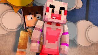 FNAF Sister Location THE AFTER PARTY Night 1 Minecraft Roleplay w Samgladiator