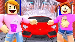 Roblox Roleplay Getting A Job At The Car Wash!