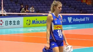 👐  VOLLEYBALL WOMEN'S WORLD CHAMPIONSHIP JAPAN 2018 女子バレーボール世界選手権 Pool B  試合後の様子