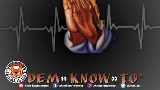 Blade Merital - Dem Know To [Audio Visualizer]