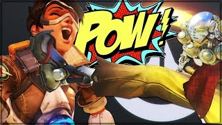 TRIGGER CHASE TOURNAMENT - Overwatch Custom Game Mode Shenanigans!