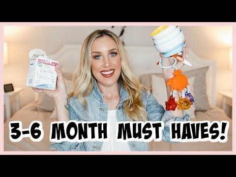 3-6 MONTH BABY ESSENTIALS! WHAT WE USED EVERY DAY | OLIVIA ZAPO