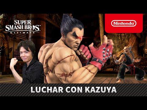 Super Smash Bros. Ultimate – Luchar con Kazuya (Nintendo Switch)