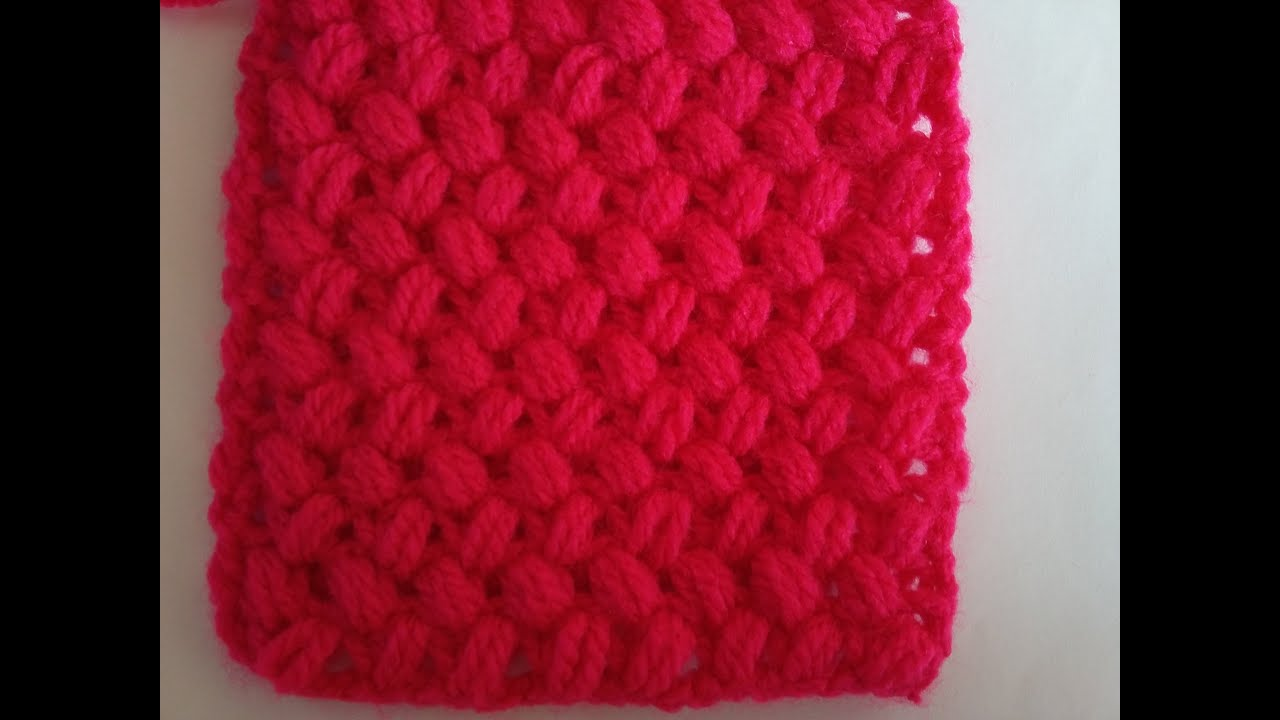 Crocheting Zig Zag Stitch : Zigzag Lif ?rg? Modeli - Crochet Zig Zag Puff Stitch - YouTube