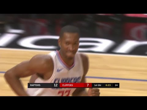 1st Quarter, One Box Video: Los Angeles Clippers vs. Toronto Raptors
