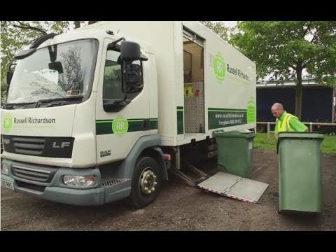 Secure Confidential Waste Shredding from Russell Richardson