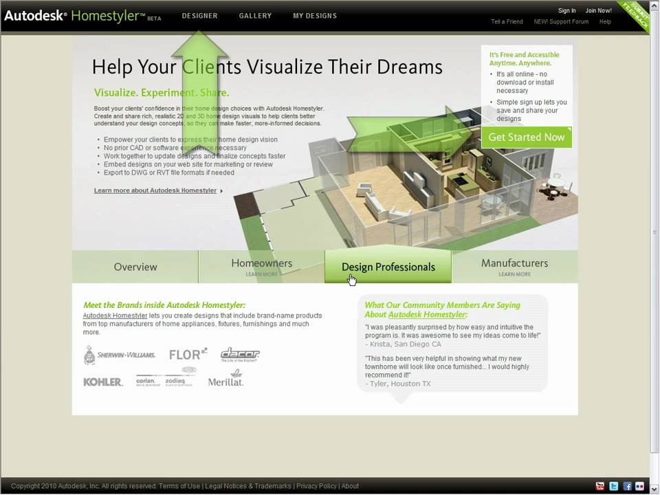 Autodesk Home Design.