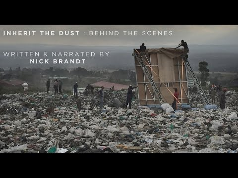 INHERIT THE DUST : Behind The Scenes, by NICK BRANDT