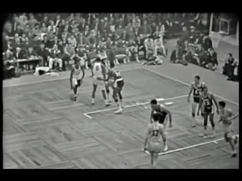 Tom Sanders 1966 NBA FInals Game 7 Highlights