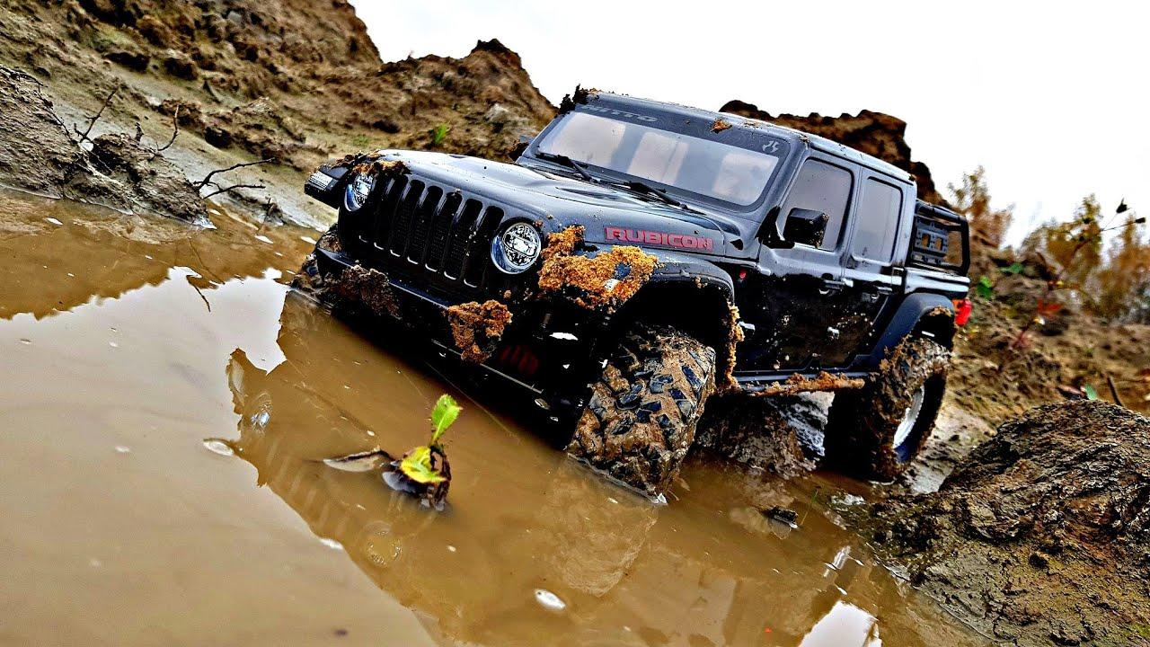Ломающееся ВЕДРО Axial Jeep GLADIATOR ! ... Не ожидал!