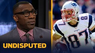 Shannon Sharpe: Rob Gronkowski is retiring as the most dominant tight end ever | NFL | UNDISPUTED