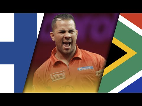 Darts World Cup 2015: Finland vs South Africa | 1st Round | English