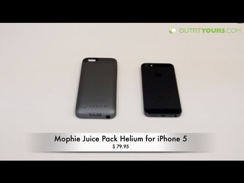 hot sale online fda6d e5ce3 mophie juice pack helium for iPhone 5S & iPhone 5 - Review