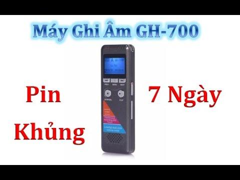 Máy Ghi âm Siêu Nhỏ Pin Khủng - GH-700