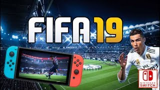 FIFA 19 SWITCH | DECOUVERTE GAMEPLAY FR | MENUS, ULTIMATE TEAM, MODES, CARRIÈRE & MATCH