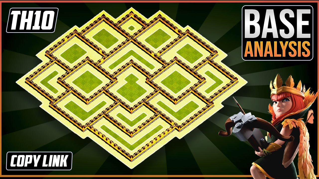 New BEST TH10 HYBRID/TROPHY[defense] Base 2020!!  Town Hall 10 Trophy Base Design – Clash of Clans