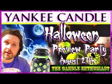 🕷 YANKEE CANDLE Village HALLOWEEN Preview Party 2016 - Flagship Store - TCE #001