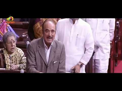 Ghulam Nabi Azad Fires On Ruling Party Which Is Disturbing The House From Proceedings | Mango News
