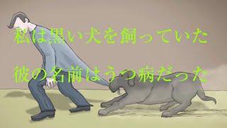【うつ病患者の見る世界】【驚くほど的確な表現うつ病症状】私は黒い犬を持っていた。彼の名前はうつ病だった。(日本語字幕) thumbnail