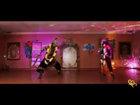Nageswary arts kampar  : Muniswarar VS Kaliamma dance.. with 2 wonderful dancers