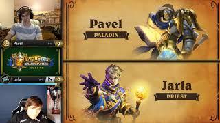 Pavel vs Jarla - Hearthstone Grandmasters Europe S2 2019 - Week 4