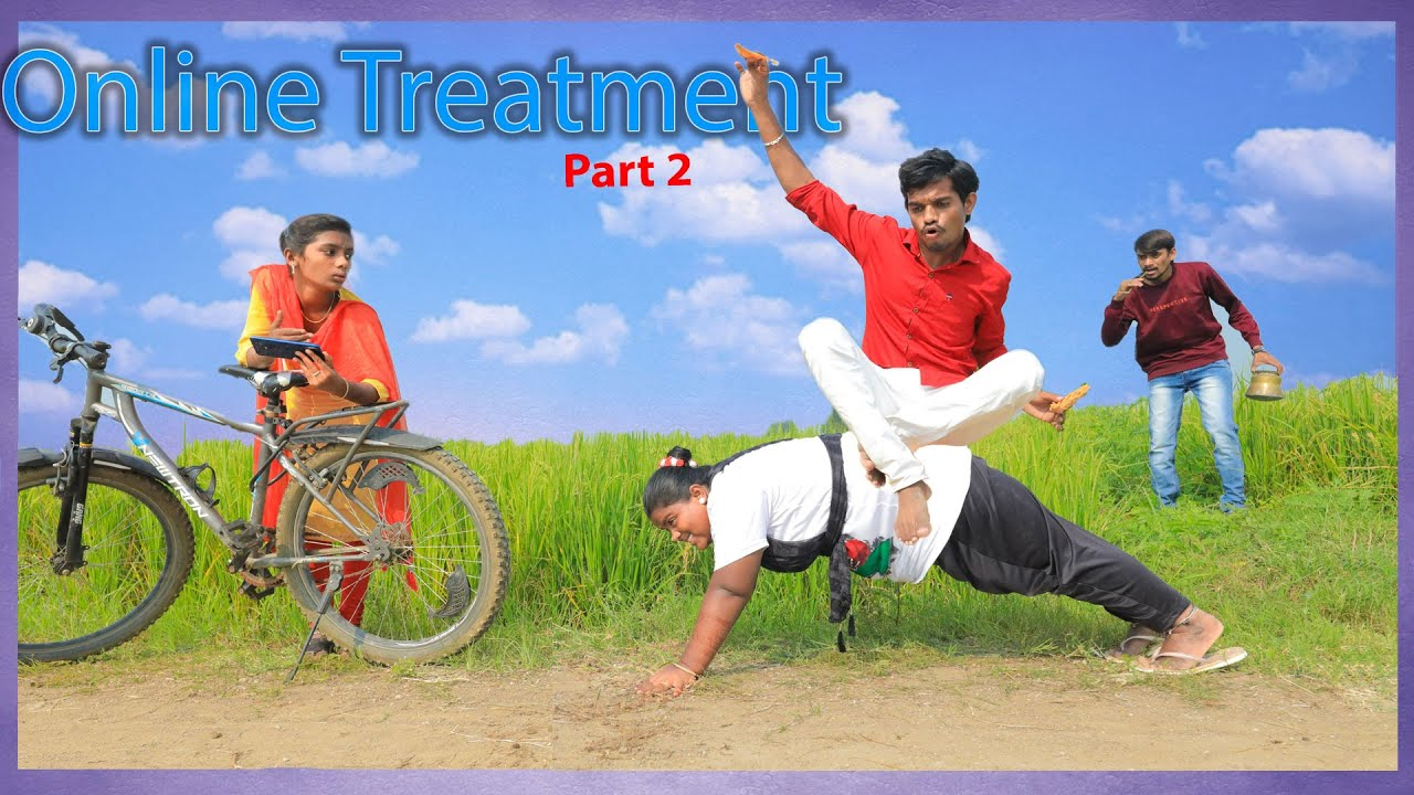 Online treatment || Part 2 || Epic village comedy | Creative Thinks A to Z
