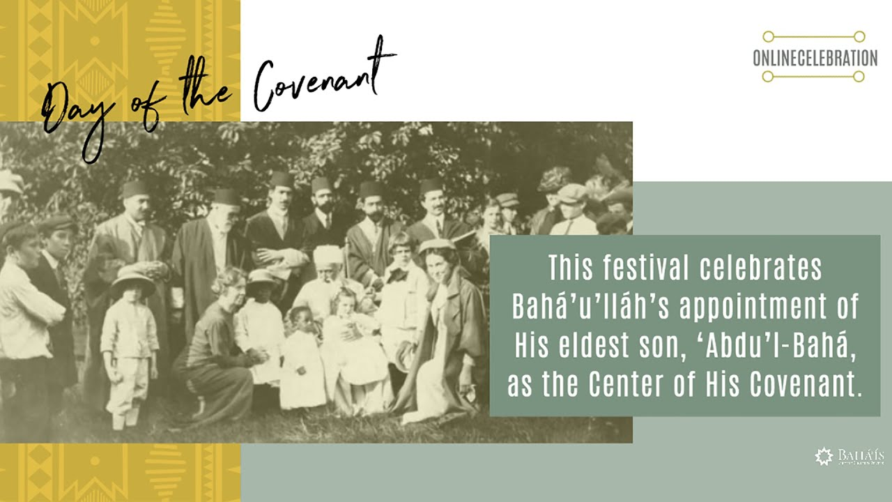 The Day of the Covenant - Online Celebration from the Bahá'í House of Worship for North America 2020