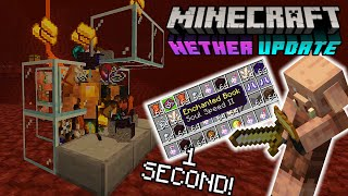 Piglin Bartering GLITCH (FULL INVENTORY IN 1 SECOND) MCPE,PS4,Xbox,Windows10,Nintendo Switch