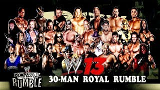 Playing WWE 13