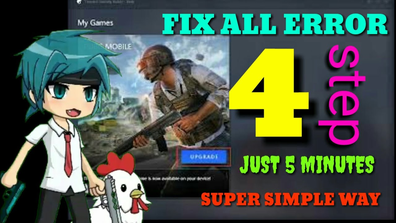 HOW TO REPAIR ALL ERROR CODE TENCENT GAMING BUDDY NEWEST UPDATE 100+50% WORKING💥💥 #1