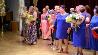 Школа 843 Москва, выпуск 2015, Музыкальный номер от учителей
