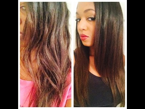 HOW TO BRING YOUR FRIZZY WIG/WEAVE BACK TO LIFE!Eva Wigs