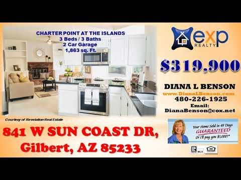 3 Bedroom, 2 Baths in CHARTER POINT AT THE ISLANDS Phoenix, AZ Gilbert, AZ