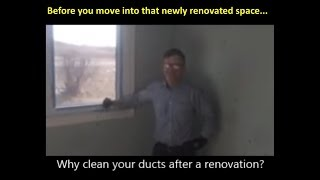 Clean your vents after a renovation or new build with Ductwise Duct Cleaning