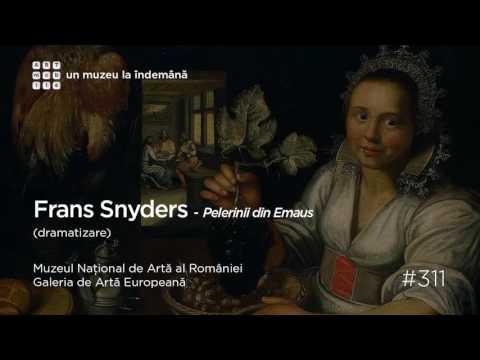 Galeria de Artă Europeană: #311 Frans Snyders Pelerinii din Emaus   dramatizare