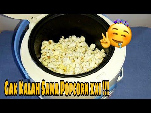 Cara Membuat POPCORN Pakai Rice Cooker | MUDAH, MURAH, CEPAT DAN ENAK !! GAK SAMPAI 10 RIBU !!