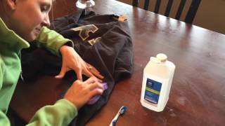 How To Remove a Paint Stain From Clothes - Easy DIY